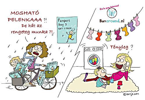 Miért bajlódjak a mosható pelenkával? Van ezer dolga egy kismamának, nem kell még egy